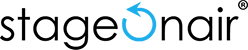 stageonair – Produktfotografie und 360 Grad Foto-Animation mit Automatik. 360° Drehbühne Logo